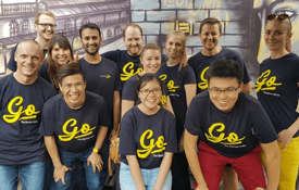 Brisbane team at escape hunt